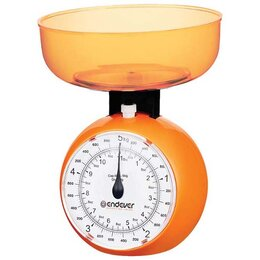 Кухонные весы - Весы кухонные механические Endever KS-518 оранжевы, 0