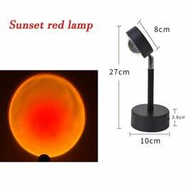 Настольные лампы и светильники - Ночник проектор заката, 0
