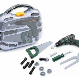 Детские наборы инструментов - Набор инструментов BeBoy (шуруповёрт + 14 предметов), 0