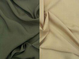 Рукоделие, поделки и товары для них - Ткань штапель вискоза (цвета бежевый и хаки), 0