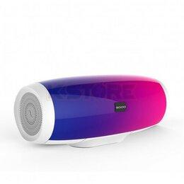 Портативная акустика - Универсальная мультимедиа стерео колонка с пульсирующей LED подсветкой Sodo L1, 0