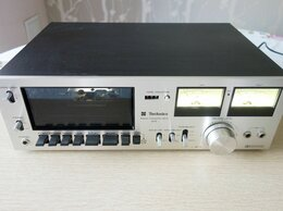 Музыкальные центры,  магнитофоны, магнитолы - Technics RS-615US - Кассетная дека, 0