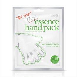 Дезинфицирующие средства - Маска-перчатки для рук с сухой эссенцией Petitfee Dry Essence Hand Pack, 0