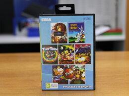 Игры для приставок и ПК - Картридж sega BS-7001 7в1 (Aladdin, Bugs Banny), 0