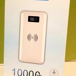 Универсальные внешние аккумуляторы - Повер банк 10000 с беспроводной зарядкой, 0