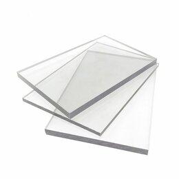 Поликарбонат - Монолитный поликарбонат 6мм 1 х 1,5 м прозрачный, 0