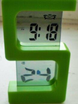 Часы настольные и каминные - Часы-будильник в стекле, 0