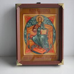 Картины, постеры, гобелены, панно - Икона Спас в Силах в киоте., 0