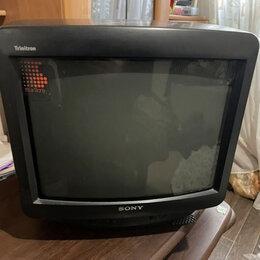 Телевизоры - Телевизор sony trinitron 35 см, 0