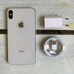 Мобильные телефоны - iPhone XS Max Silver 64gb новые Ростест, 0