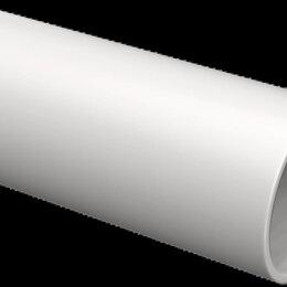 Кабеленесущие системы - Труба гладкая жесткая ПВХ d=20мм серая (93м) 3м IEK, 0