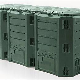 Компостеры - Компостер Prosperplast Module зеленый IKSM1200Z-G851, 0