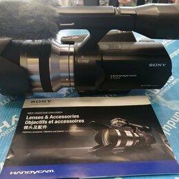 Видеокамеры - Видеокамера Sony NEX-VG20E, 0