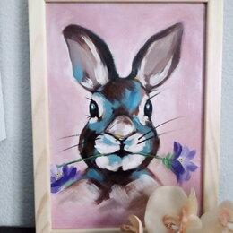 """Картины, постеры, гобелены, панно - Картина"""" Кролик"""", 0"""