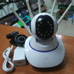 Камеры видеонаблюдения - Wi-Fi камеры для наблюдения через телефон для дома,дачи,офиса и магазина, 0