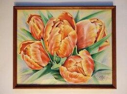 Картины, постеры, гобелены, панно - Тюльпаны, 0
