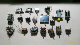 Радиодетали и электронные компоненты - Тумблера и переключатели., 0
