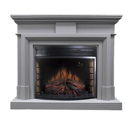 Камины и печи - Royal Flame Каминокомплект Coventry Grey - Серый…, 0