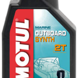Масла, технические жидкости и химия - Масло моторное MOTUL (Мотюль) MOTUL OUTBOARD SYNTH 2T (1л), 0