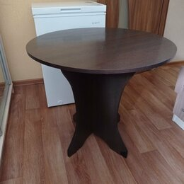 Столы и столики - Стол обеденный круглый.Состояние нового., 0