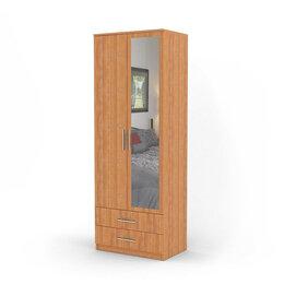 Стеллажи и этажерки - Шкаф двухдверный Дуэт 60х60 Ольха, 0