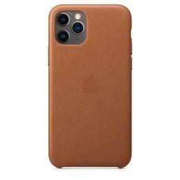 Чехлы - Кожаный чехол для iPhone 11 Pro Max, золотисто‑коричневый цвет, 0