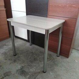 Столы и столики - Новый стол. Надежный устойчивый каркас. Ноги Хром., 0