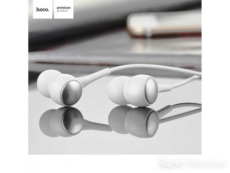 HOCO M19 Вакуумные наушники затычки с микрофоном по цене 170₽ - Наушники и Bluetooth-гарнитуры, фото 0