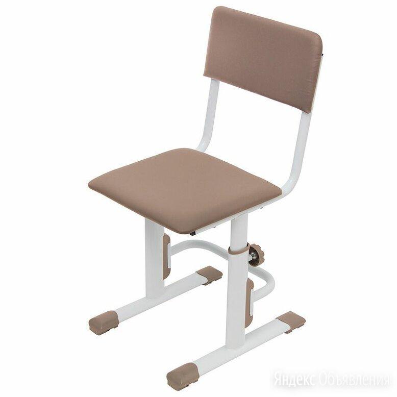 Стул для школьника регулируемый Polini kids City / Polini kids Smart S, белый-ма по цене 3490₽ - Компьютерные кресла, фото 0