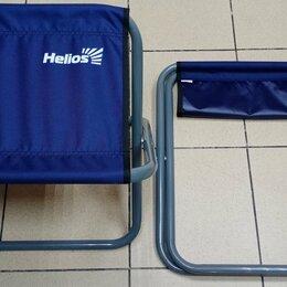 Походная мебель - Складной усиленный рыбацкий стул без спинки, 0