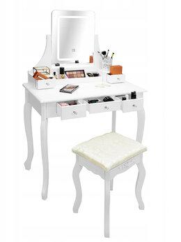 Столы и столики - Столик косметический с подсветкой зеркала, 0