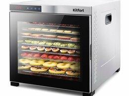 Сушилки для овощей, фруктов, грибов - Сушилка для овощей и фруктов Kitfort KT-1910…, 0