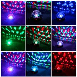 Новогодний декор и аксессуары - Диско-шар 38 светодиодов, 0