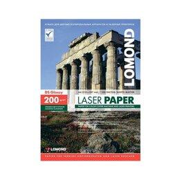 Бумага и пленка - Фотобумага Lomond Двухсторонняя Глянцевая, для лаз, 0