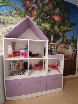 Стеллажи и этажерки - Шкаф стеллаж дом. Шкафы-домиком. Домики шкафы…, 0