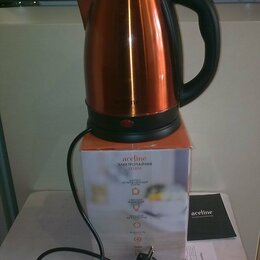 Электрочайники и термопоты - Электрочайник Aceline модель SS1800 Orange, 0