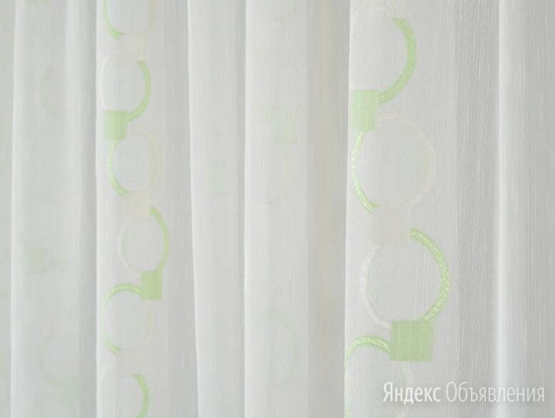 Тюль вуаль дождик с рисунком по цене 550₽ - Шторы, фото 0