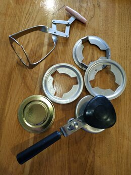 Консервные ножи и закаточные машинки - Набор для консервирования и стерилизации банок…, 0