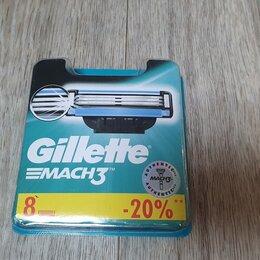 Бритвы и лезвия - Gillette Mach 3 сменные кассеты для бритья, 0