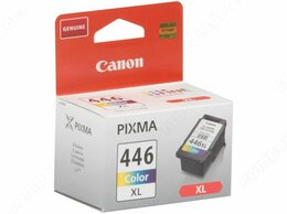 "Картриджи - Картридж Canon ""CL-446XL"" (трехцветный) для…, 0"