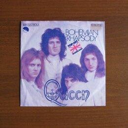 Виниловые пластинки - Queen. Bohemian Rhapsody - сингл 1975, 0