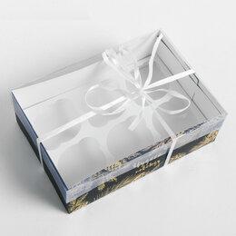 Посуда - Коробка для капкейка «Для тебя», 23 × 16 × 7,5 см 4334748, 0