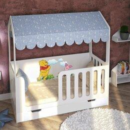 Кроватки - Детская кровать Домик Сказка белая, 0