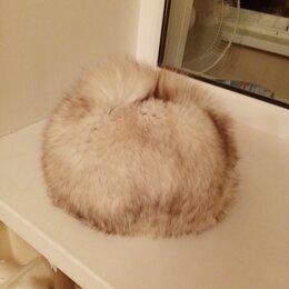 Головные уборы - Тёплая женская шапка из песца, 0