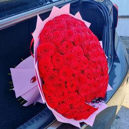 Цветы, букеты, композиции - Розы букет 101, 0