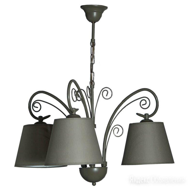 Люстра подвесная оливковая Patryk 1720 по цене 6590₽ - Люстры и потолочные светильники, фото 0