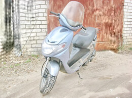 Мототехника и электровелосипеды - Suzuki Adress New Silver Япония, 0