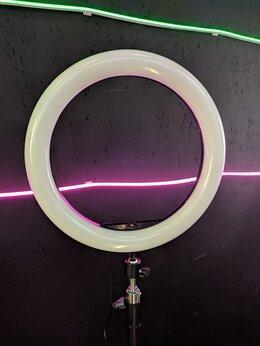 Интерьерная подсветка - Кольцевая лампа 33см RGB, 0