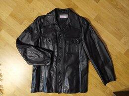 Пиджаки - Мужской кожаный пиджак, новый, Kleider Bauer,52-54, 0