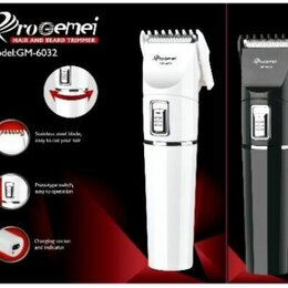 Груминг и уход - Машинка для стрижки волос Gemei GM-6032, 0